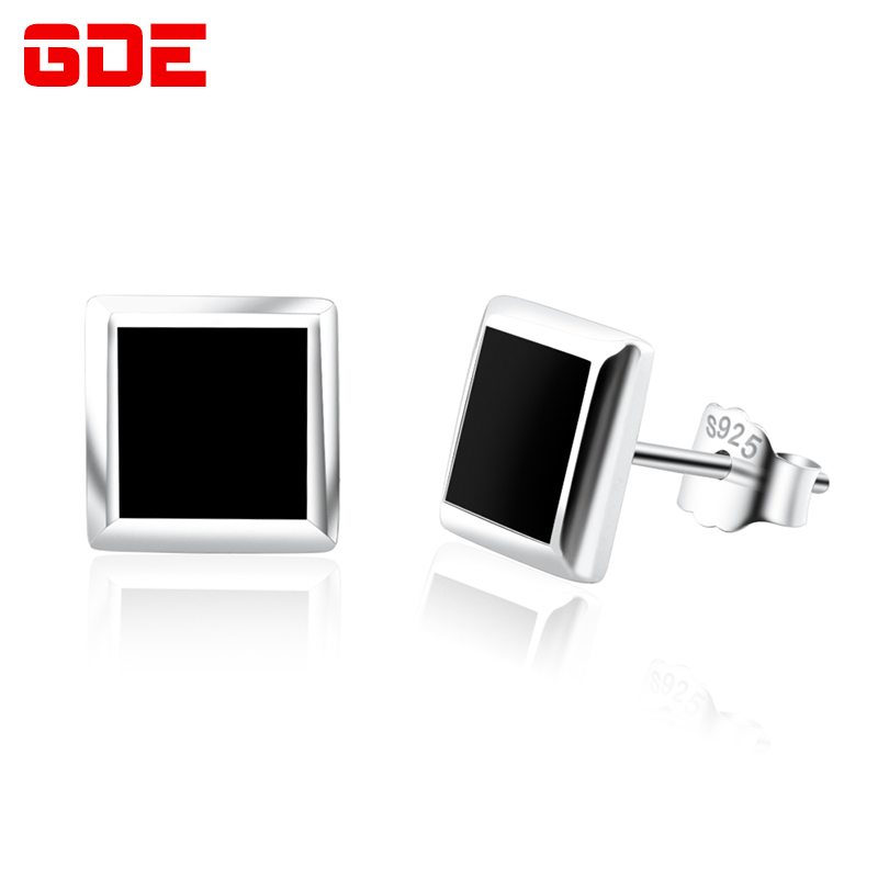 925 silver earrings korean fashion earrings for men alone tide male personality korean jewelry silver jewelry