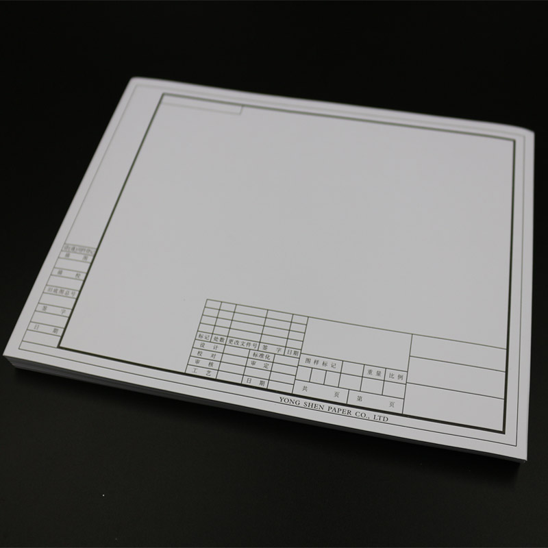 A3 drawing paper with a box of a4 paper marker dedicated a1 a2 blank drawing paper engineering drawing paper tape boxed