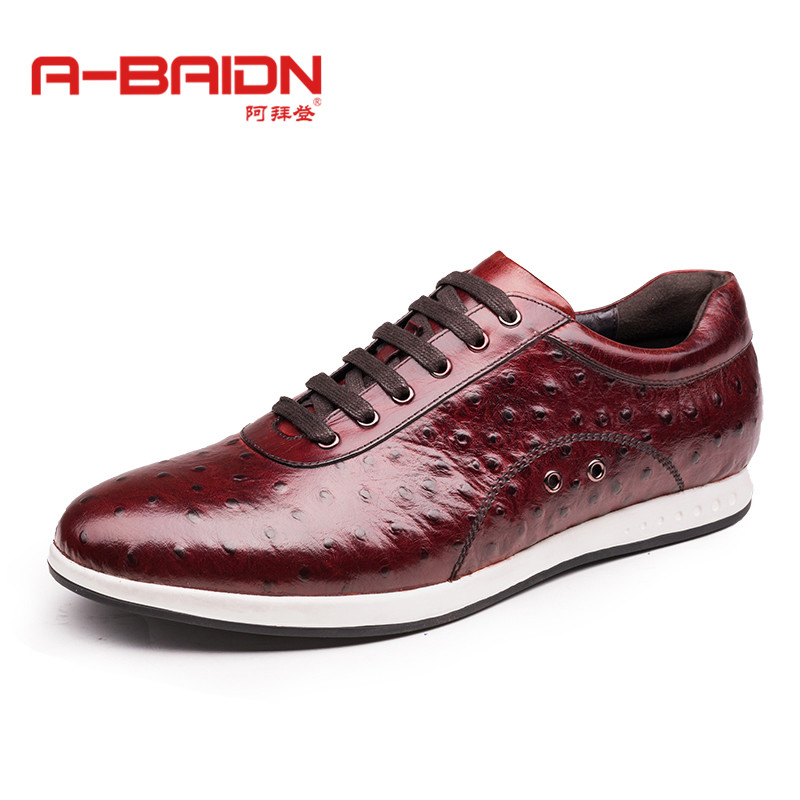 Abaidn/o biden youth trend in autumn and winter outdoor sports and leisure shoes lace round men's fashion business 1