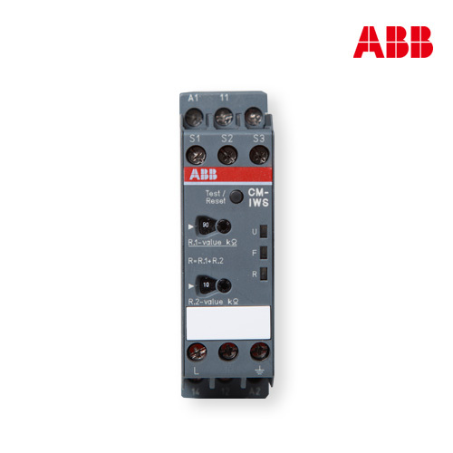 Abb relays ac and dc not insulated grounding system 1-monitor CM-IWS.1 (1-100K ohm)