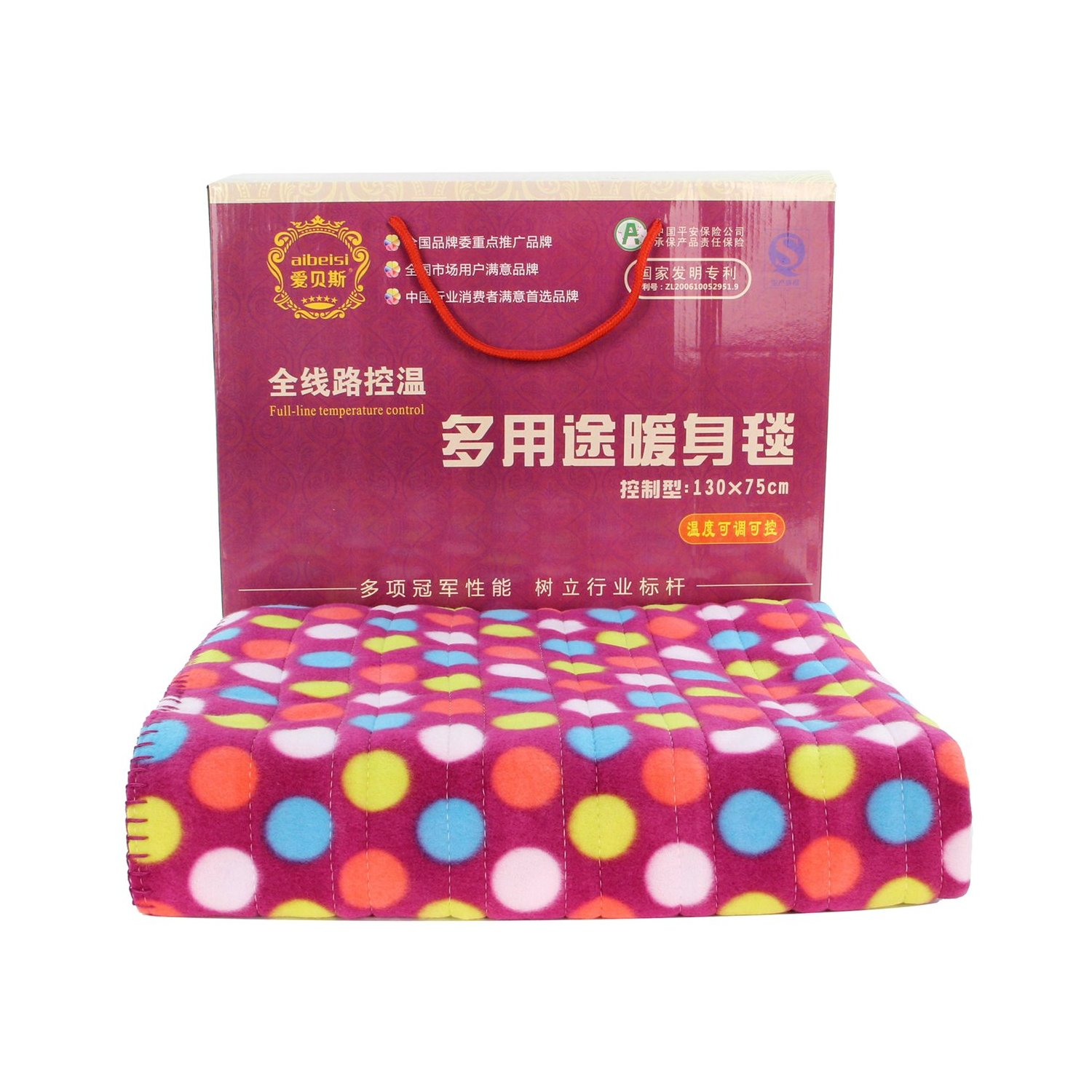 Abx single electric blanket electric blanket to warm up 66899 safety leakproof washable electric mattress genuine