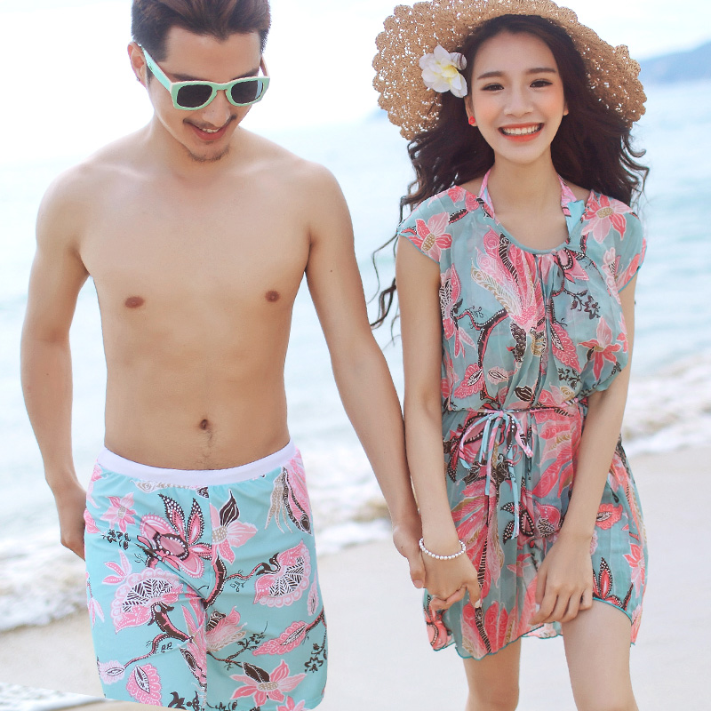 2501af4948 Get Quotations · Adams man qi 2015 new swimsuit fashion sweet romantic  couple models swimsuit hot spring swimsuit female