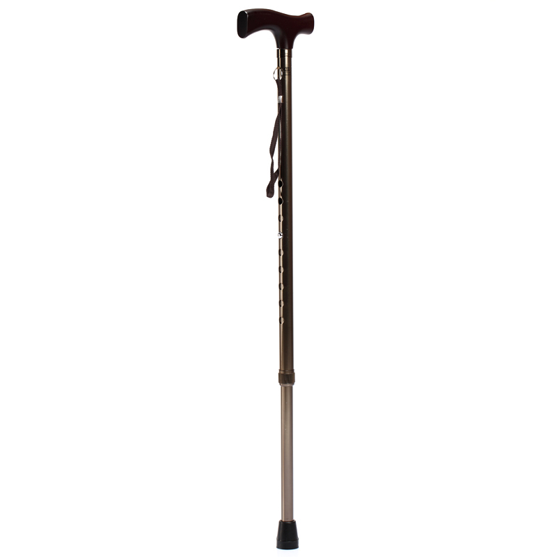Adjustable height â² diving yu821 cane walker aluminum crutches walking stick elderly walker single foot