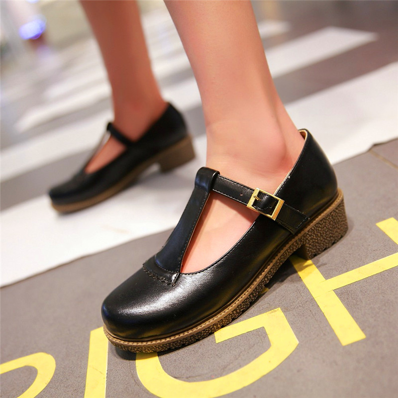 Get Quotations Adolescent Girls Junior High School Students College Wind Autumn Models Of Child Shoes Black Student