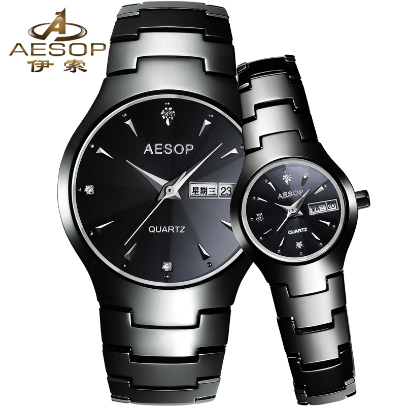 Aesop authentic watches quartz watch waterproof couple watches fashion ceramic table fashion table 8835