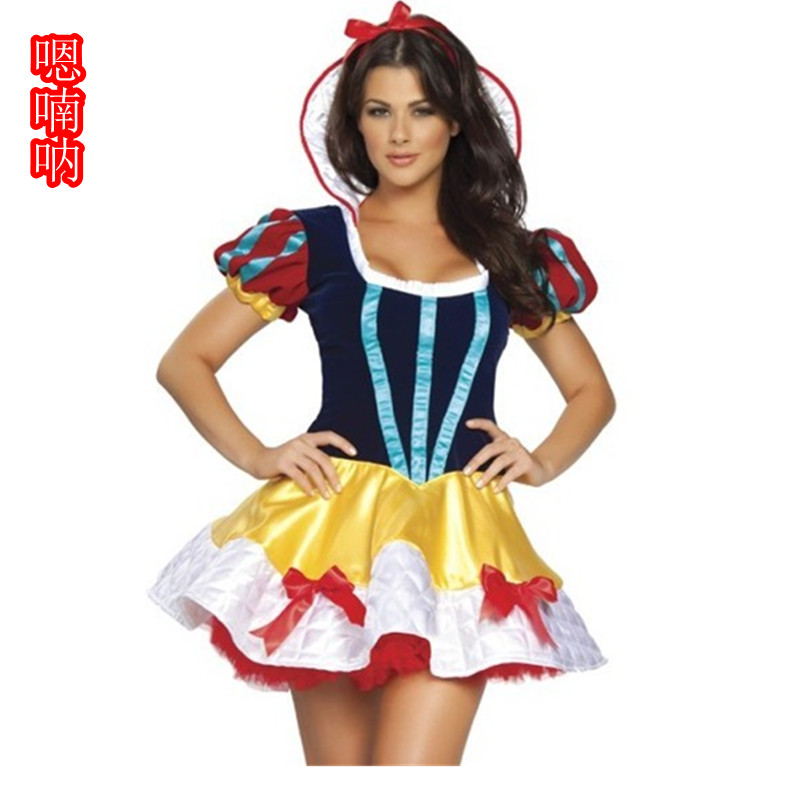 Ah nan na halloween costumes disney snow queen snow white tutu skirt dress queen