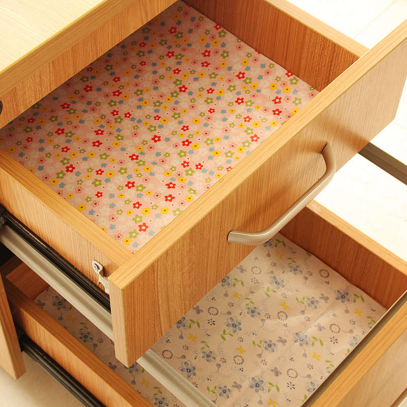 Ai shang oilproof simei thick drawer can be cut mat pad waterproof cabinet drawer wardrobe moisture pad pad of paper
