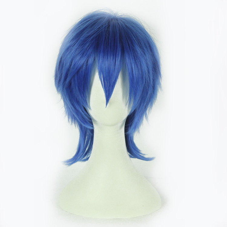Ai sini wig v home kaito magnet camellias blue cosplay wig