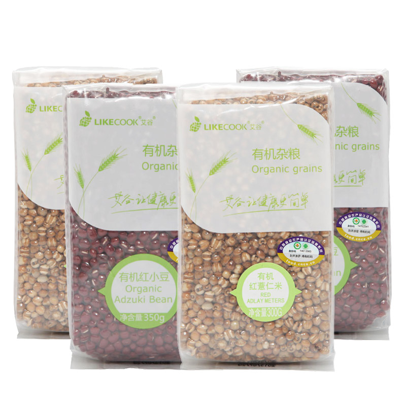 Ai valley organic red beans red beans barley rice combination (organic red beans + organic red barley rice) 1300g