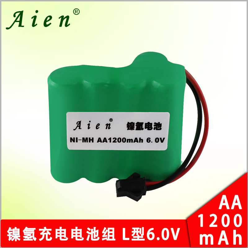 Aien aa1200mah nimh rechargeable batteries on 5 remote control toy car remote control car 6 v l type