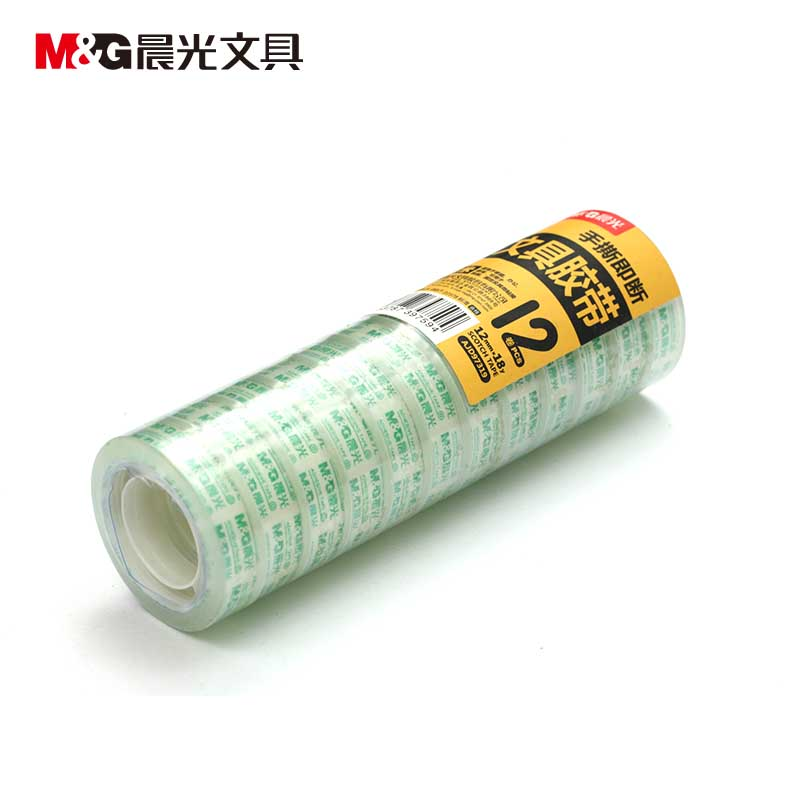 Ajd97319 dawn stationery tape stationery tape 12 * 18y environmental sealing tape stationery tape