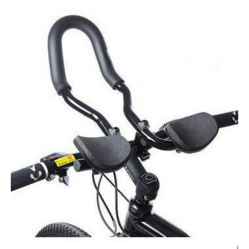 Aluminum alloy bicycle handlebar comfort mountain bike deputy to the rest of the long road/racing aerobar