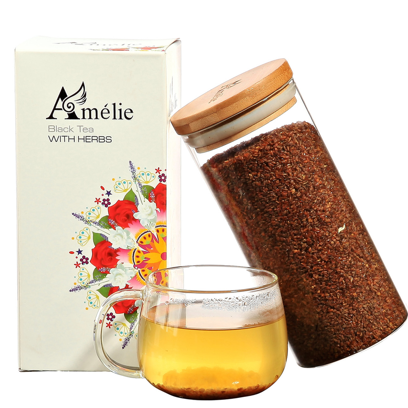 Amelie herbal tea buckwheat tea black buckwheat tea 500g/tank
