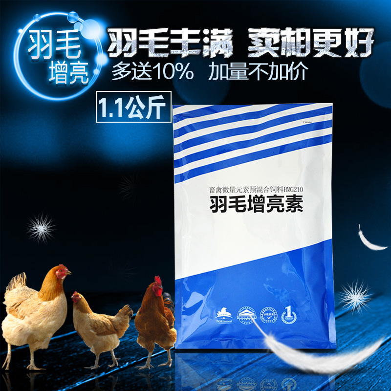 Amoy pastoral feather feather feathers nutrients su brightening powder veterinary trace elements of chicken feed additive