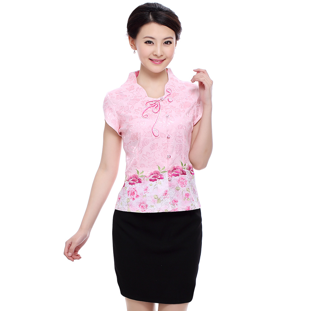 Amy xin si hotel restaurant chinese costume tea room restaurant waiter overalls summer hotel uniforms female
