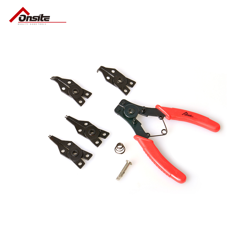 An appropriate ONSITE701024 snap ring pliers kit 4 in 1 internal snap ring pliers snap ring pliers snap ring pliers wild card in the card