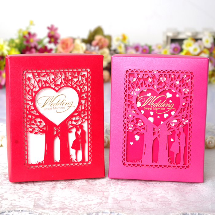 An awe european wedding candy box creative personality candy box wedding gift back upscale carton