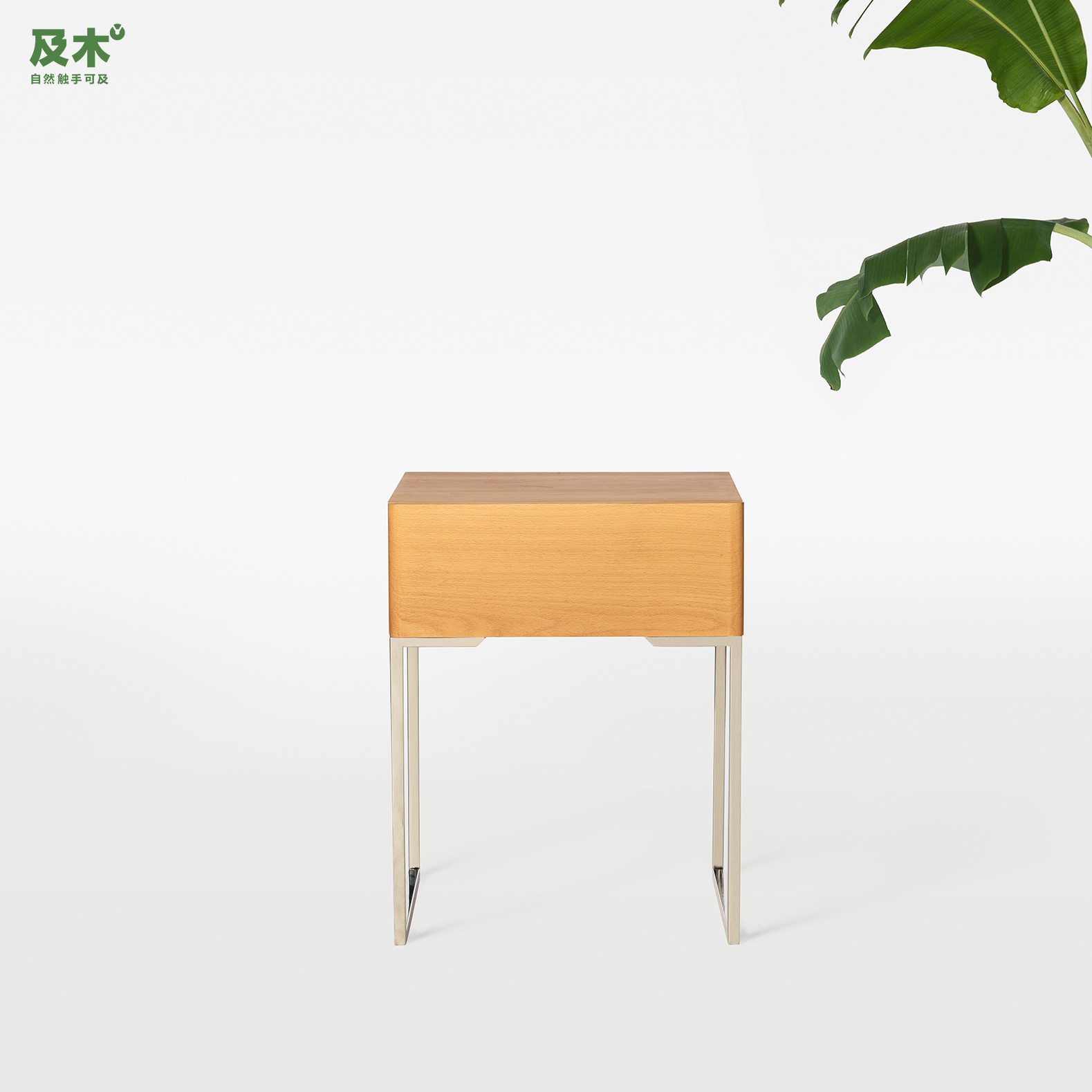And wood furniture scandinavian modern minimalist fashion creative design CG004 beech wood bedside cabinet bedside cabinet with drawers