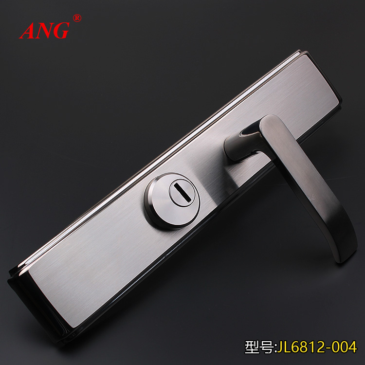 Ang chun li lock] 304 stainless steel door handle mechanical door security door security door lock cylinder super class b Lockset