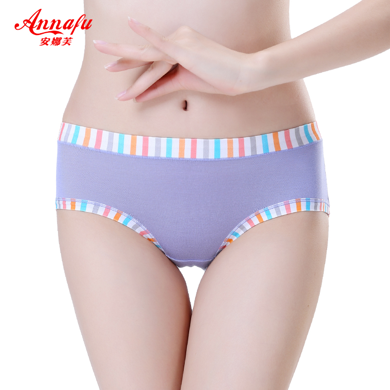 Anna fu cute girl panties female waist briefs