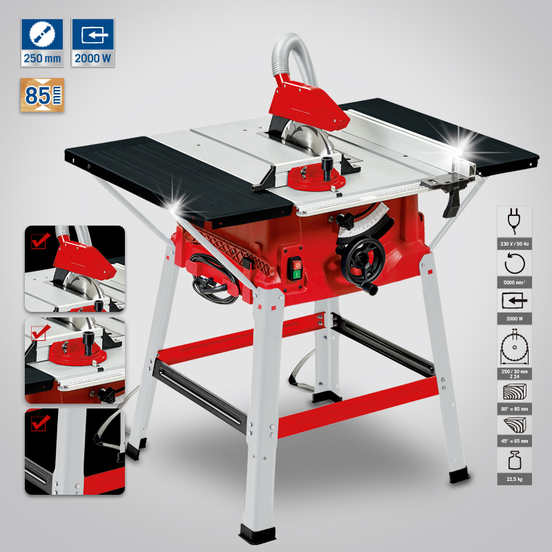 Ansett 10 desktop 10-inch table saw woodworking saws electric circular saw circular saw cutting machine power tools clean chainsaw