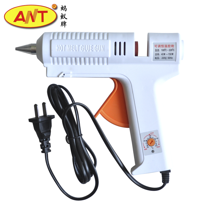 Ant thermostat hot melt glue gun hot glue gun glass glue gun glue gun thermostat with indicator lights 40-150 w at-8