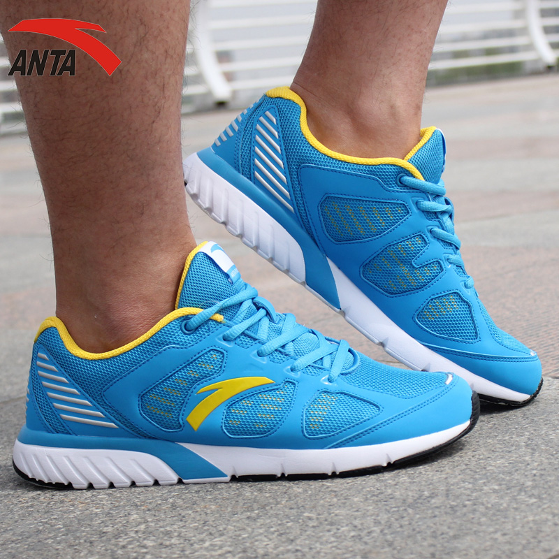 Anta men's running shoes in spring and autumn genuine men breathable mesh running shoes sports shoes casual shoes jogging shoes travel shoes
