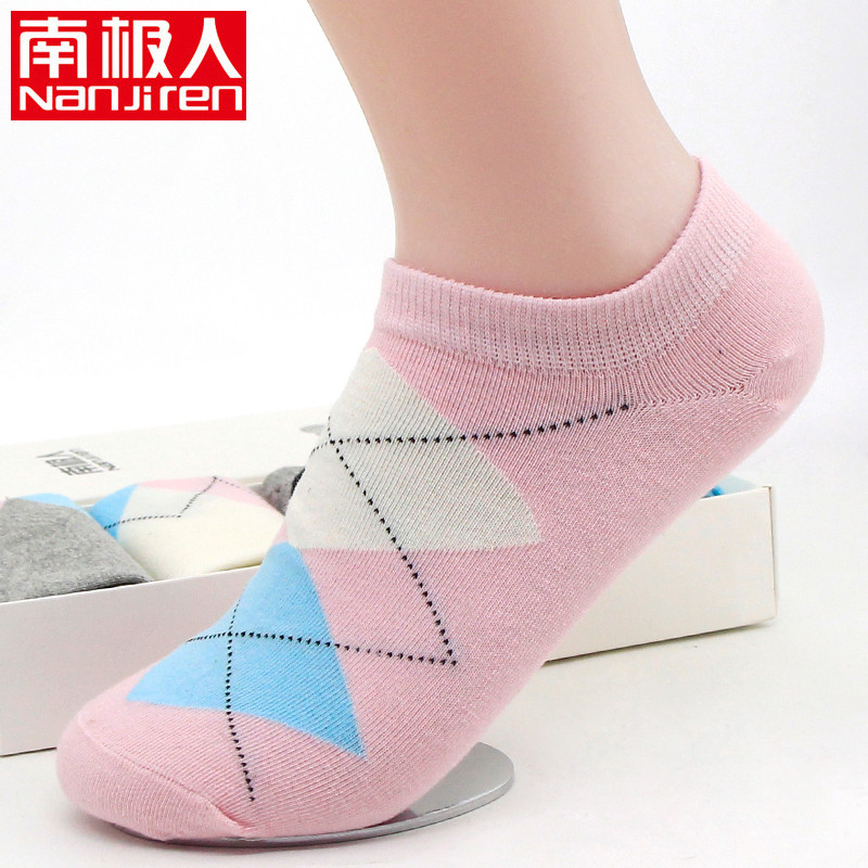 Antarctic socks female spring and summer shallow mouth invisible socks boat socks short tube socks sports socks japanese socks gift