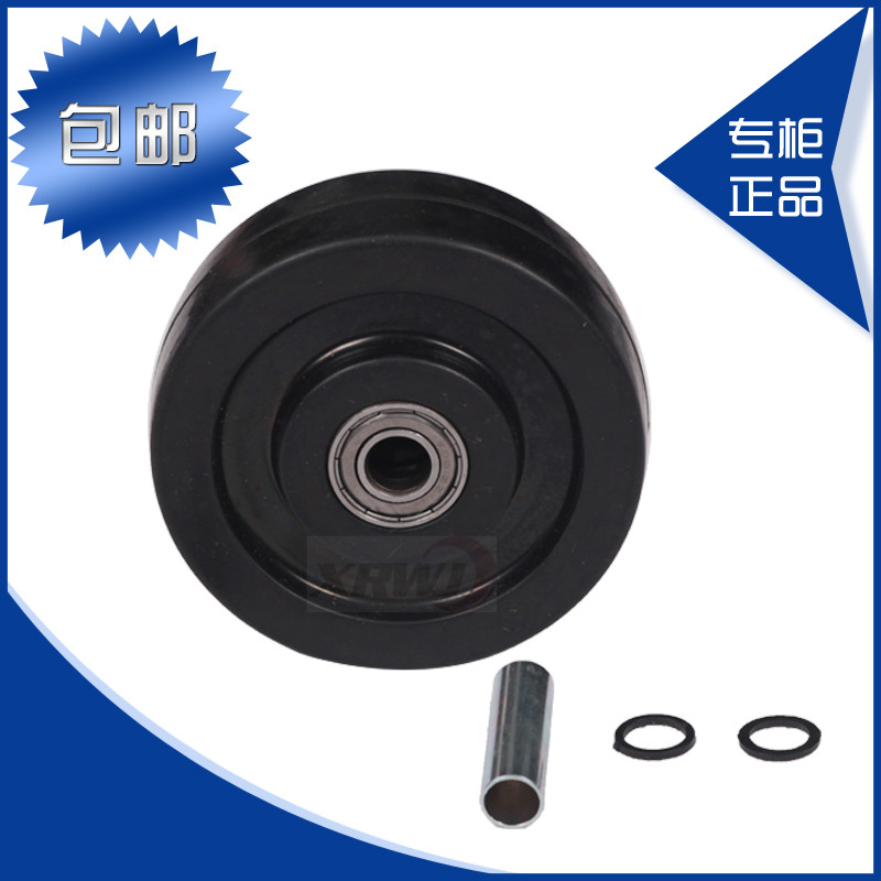 Antistatic heavy static conductive casters caster 4 inch wheels 100MM wheels for heavy rubber wheel