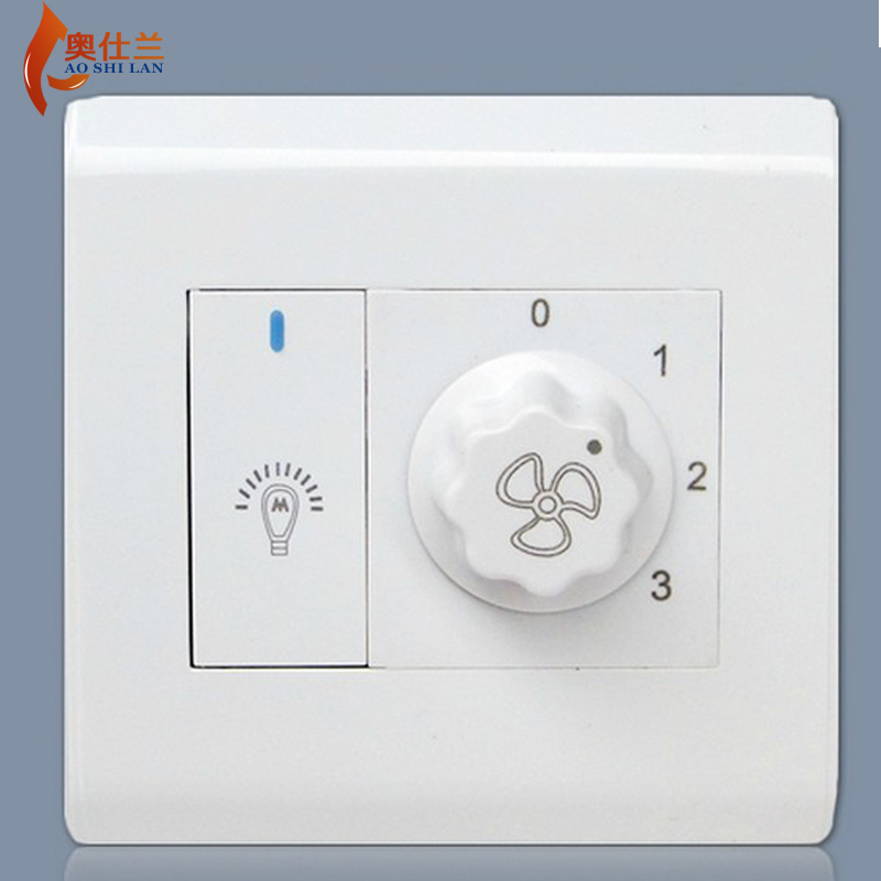 Aoshi orchid fan lights ceiling fan light illuminated fan wall control switch governor ceiling fan speed control Wall switch