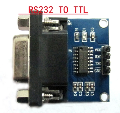 Apobico | rs232 to ttl serial module transceiver module with module level indicator lights 232