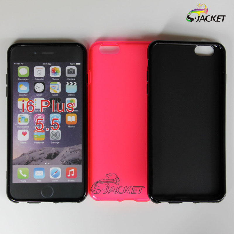 Apple/apple iphone 6 plus (5.5 inch) pudding phone shell tpu soft shell protective sleeve