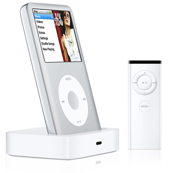 Apple/apple ipod remote control universal dock universal dock MB125