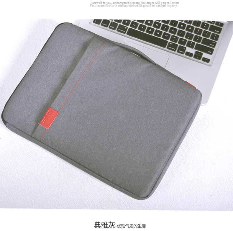 Apple notebook sleeve macbook air pro 11/12/pkg 13/15 inch laptop bag
