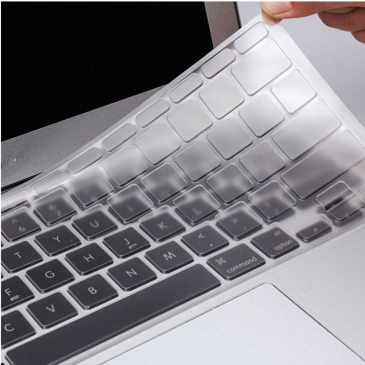 Apple's new macbook pro (MF855CH/a) 12 inch protective cover tpu membrane keyboard keys bit the dust pad