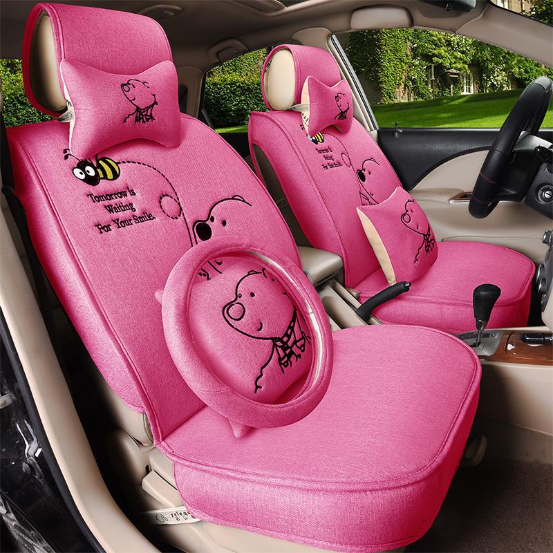 Applicable cute car seat cover seat cover seat cover suitable for ford focus mondeo maverick wing blog car seat cover seat cover