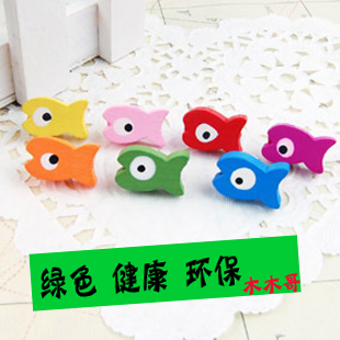 Apricot double fish cartoon cute nail dowel pushpin pushpin cork message board bulletin thescrapof word nails nail cork