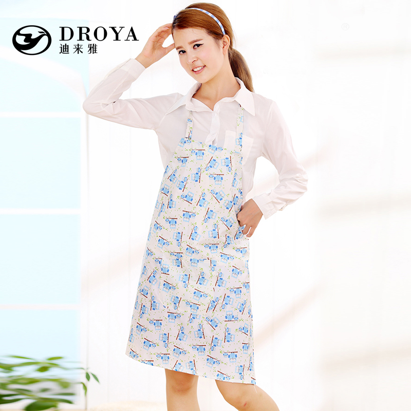 Aprons korean fashion cute princess home kitchen water and oil repellency apron aprons gowns adult apron woman
