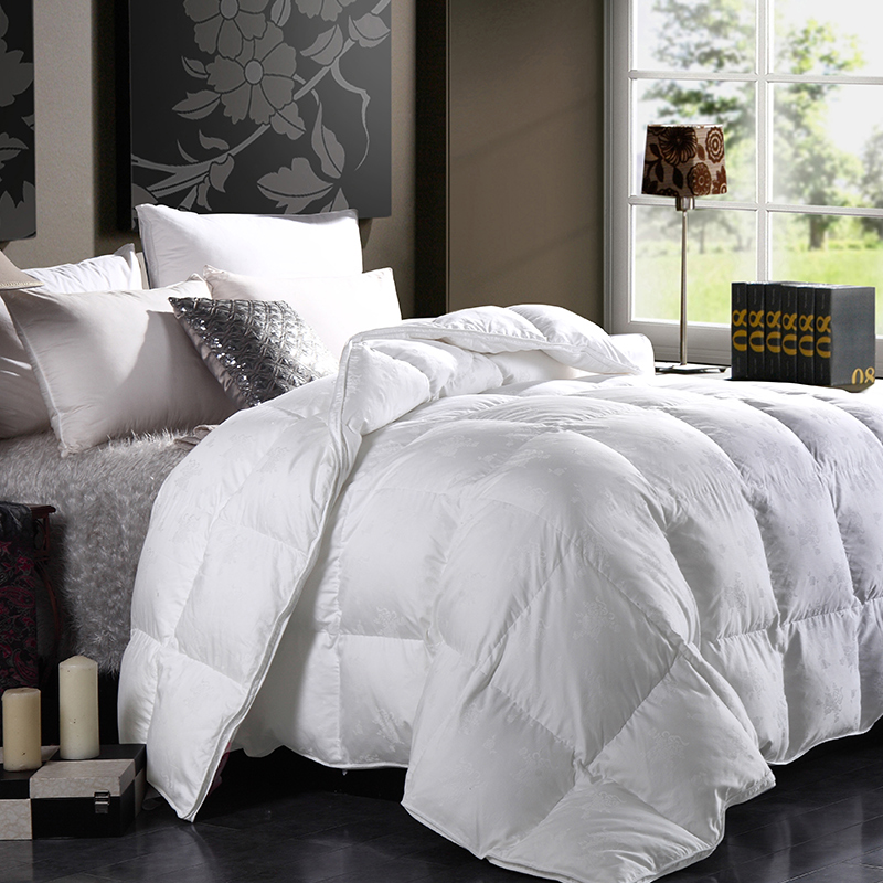 Armagh tina white duck down duvets duvet thick winter is the core spring cotton jacquard quilt authentic free shipping