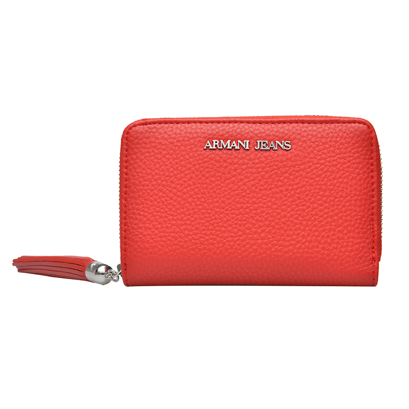 Armani men's wallet wallet zipper wallet clutch female 2016 new spring and summer european and american minimalist long section bills folder