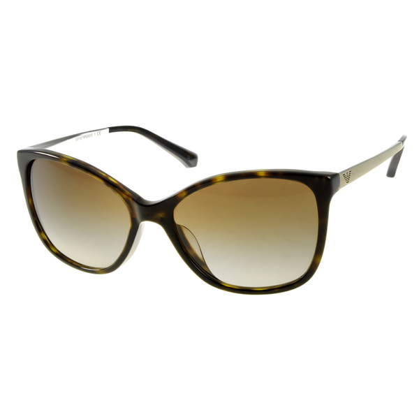 Armani sunglasses european and american cat models/amber gold # ea4 payeasy official website direct mail