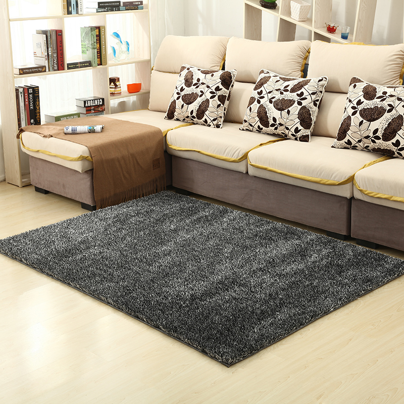 Arte cheap disposable korean silk carpet living room coffee table encryption liangsi upscale bedroom carpet bed
