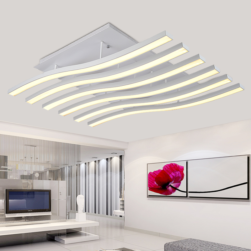 Artistic personality led ceiling lamp bedroom lamp bedside lamp creative minimalist living room lamp post modern smoke hanging lamps