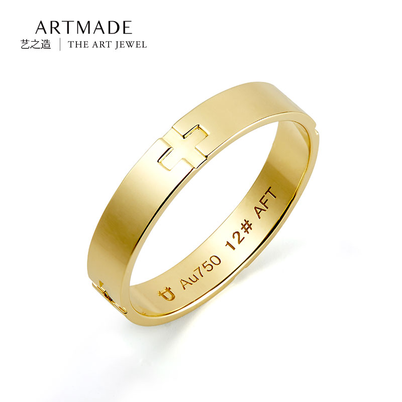 Artmade/art of making ms. k yellow gold ring k gold ring k gold ring gold ring female models