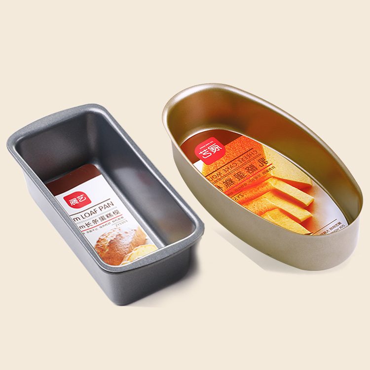 Arts exhibition strip pound cake cheese cheese cake mold solid bottom nonstick baking mold toast toast box mold