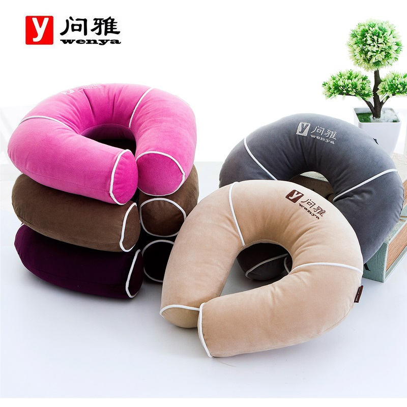 Ask ya u type pillow neck pillow cervical pillow travel pillow airplane pillow u pillow office lunch siesta sleep pillow