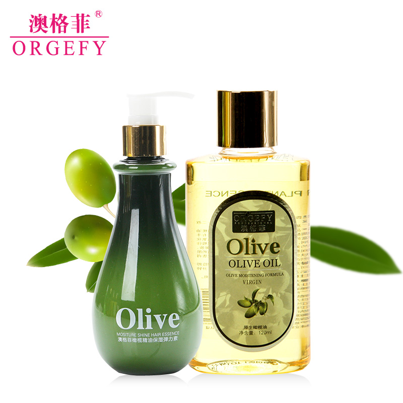 Australia guffy olive oil extra virgin olive oil piece moisturizing elastin hair care styling