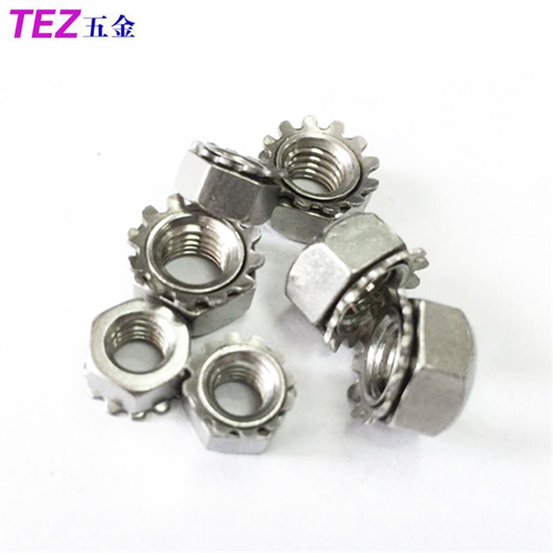 Authentic 304 stainless steel cap type k more teeth nut nut m3/m4/m5/m6/ M8/m10