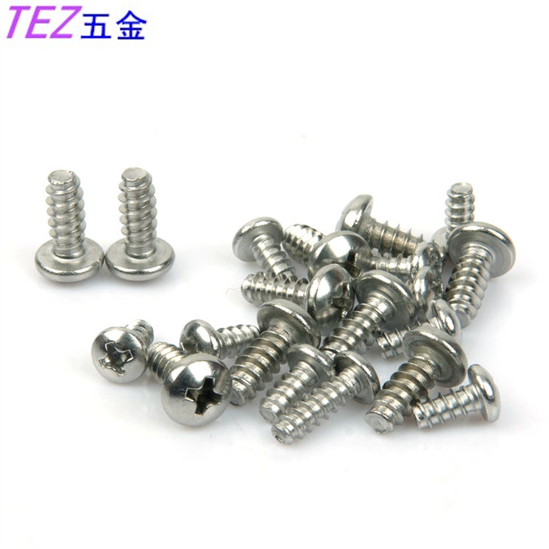 Authentic 304 stainless steel round hirao tapping screws m5 series