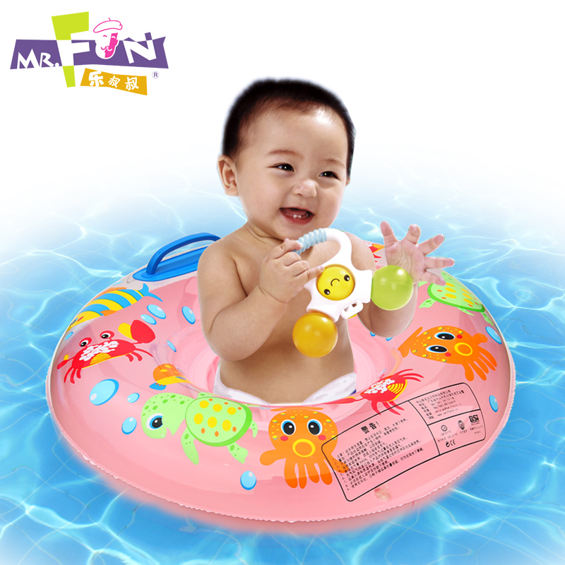 Authentic music uncle infants and young children swimming laps spare tire sitting circle armpit lifebuoy ring swim ring baby seat ring swim years